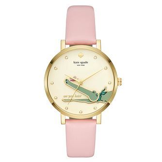 Kate Spade Monterey Ladies' Yellow Gold Tone Strap Watch - Product number 4116666