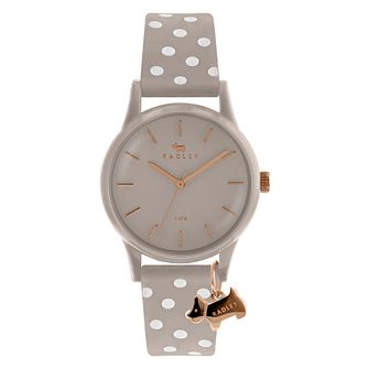 Radley 'Watch It!' Ladies' Polka Dot Silicone Strap Watch - Product number 4120841