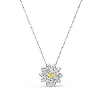 Swarovski Eternal Flower Rhodium Plated Pendant - Product number 4128052
