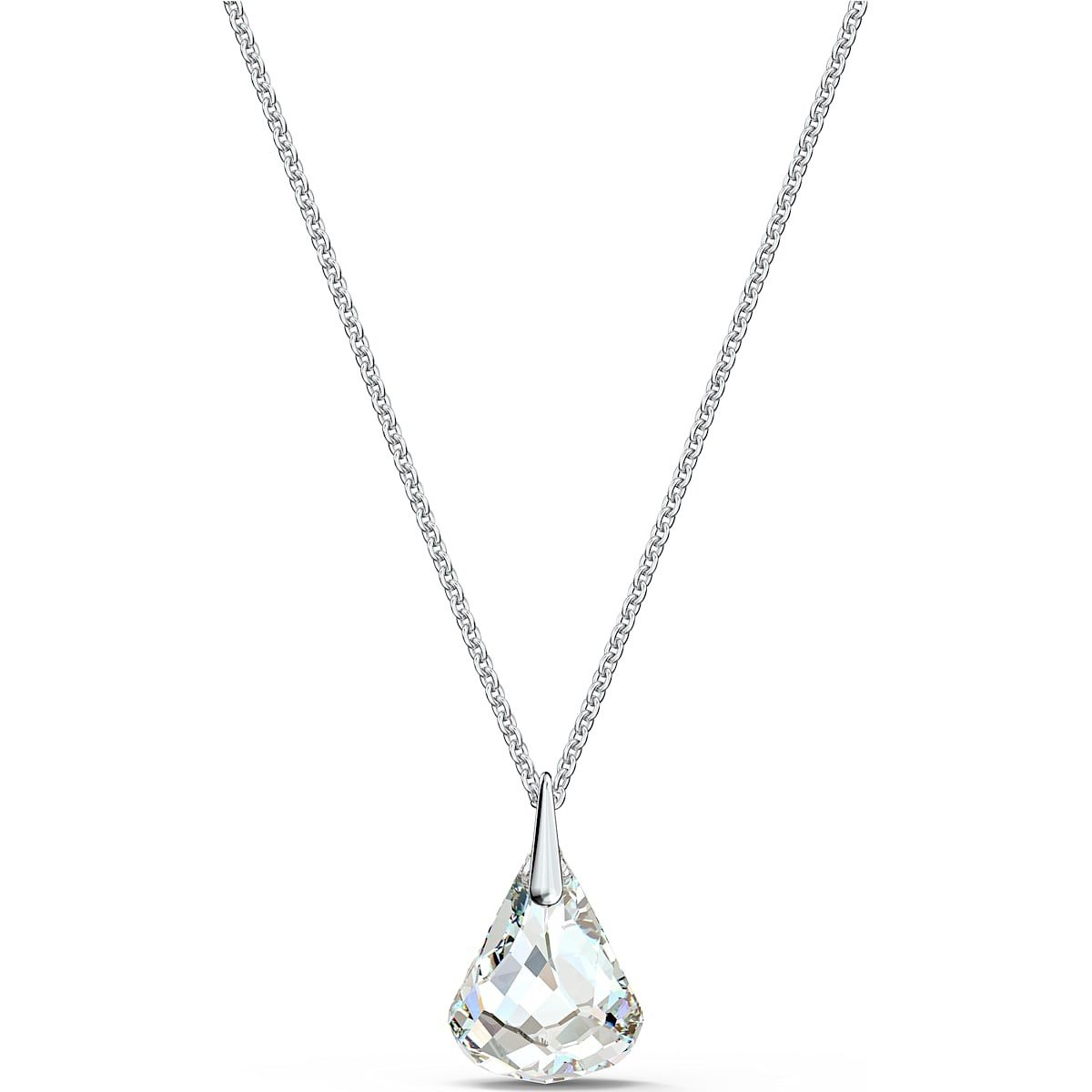 Swarovski Spirit Rhodium Plated Crystal Pendant - Product number 4128176