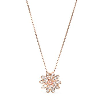 Swarovski Eternal Flower Rose Gold Plated Pendant - Product number 4128311