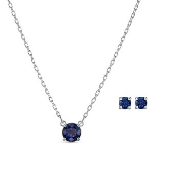 Swarovski Attract Rhodium Plated Crystal Jewellery Gift Set - Product number 4129016
