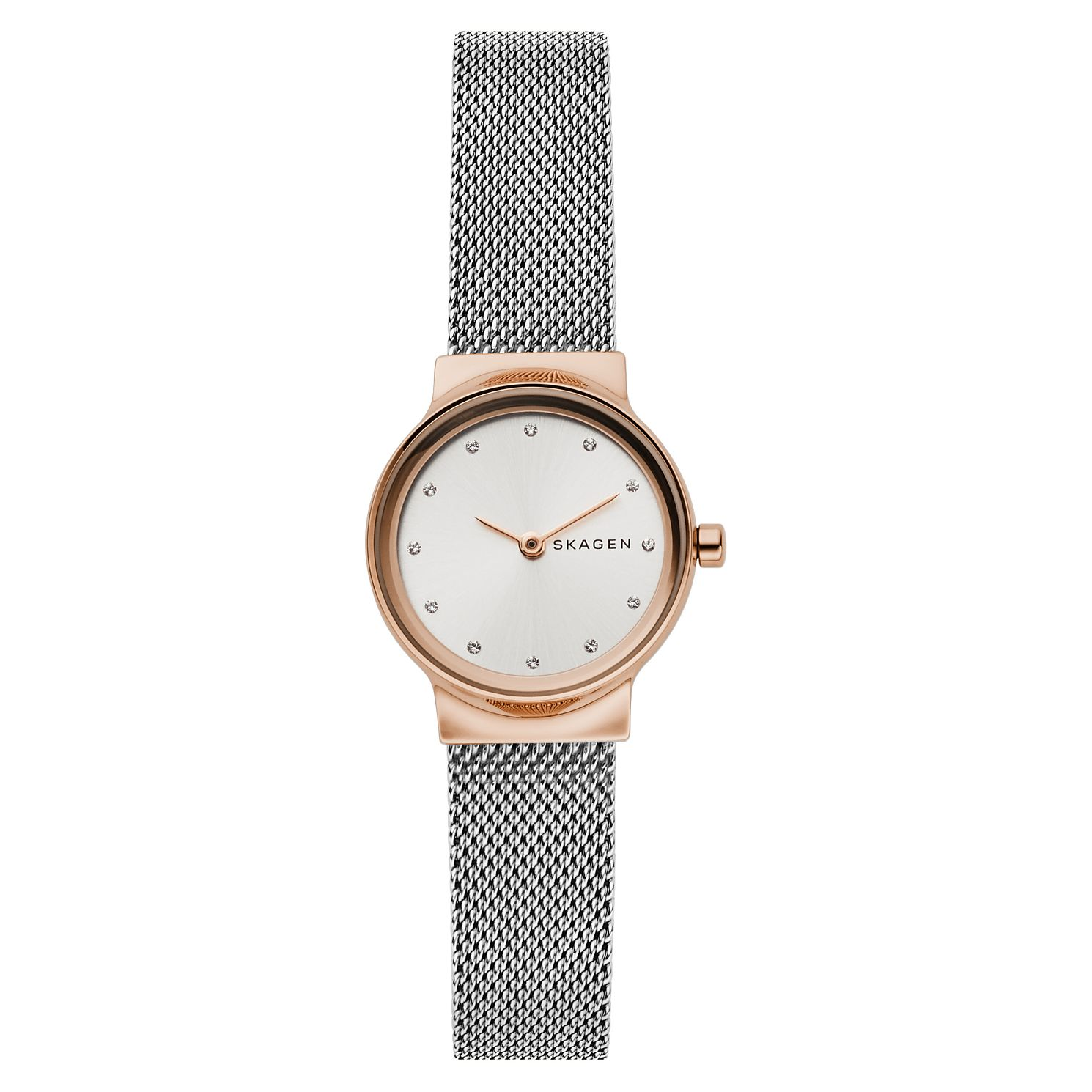 Skagen Freja Ladies' Two Tone Mesh Bracelet Watch - Product number 4132416