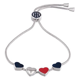 Tommy Hilfiger Ladies' Stainless Steel Casual Heart Bracelet - Product number 4133099