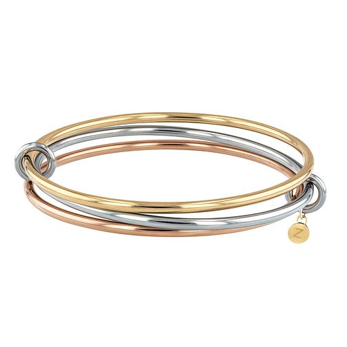Tommy Hilfiger Tri Colour Stainless Steel Bangle - Product number 4133110
