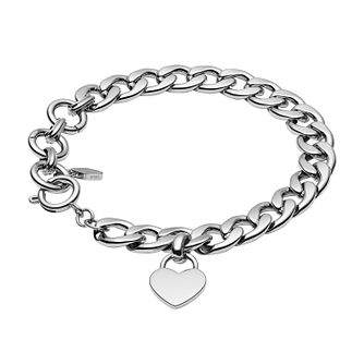 Fossil Stainless Steel Flat Curb Bracelet - Product number 4139887