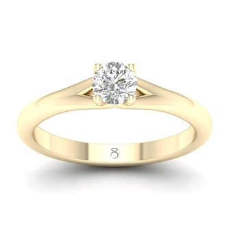 The Diamond Story 18ct Yellow Gold 0.30ct Diamond Ring - Product number 4152085