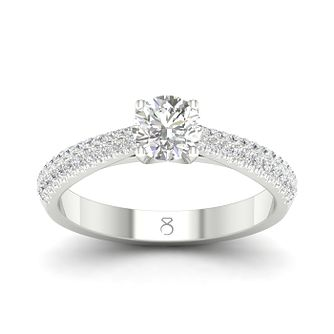 The Diamond Story 18ct White Gold 2/3ct Diamond Ring - Product number 4152794