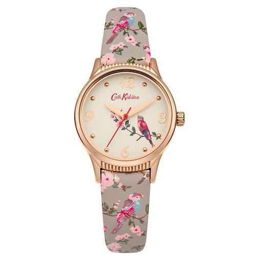 Cath Kidston Ladies' Grey Strap Watch - Product number 4166043