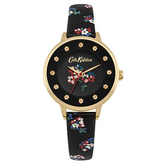 Cath Kidston Ladies' Charcoal Strap Watch - Product number 4166140