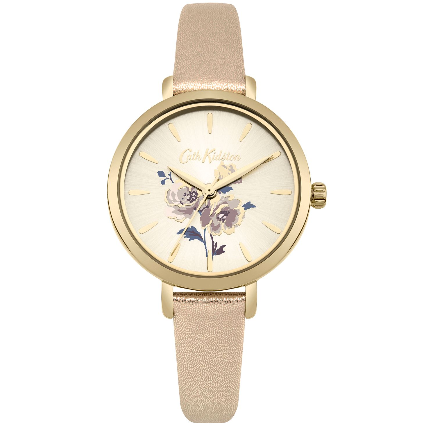 Cath Kidston Ladies' Metallic Gold Strap Watch - Product number 4166213