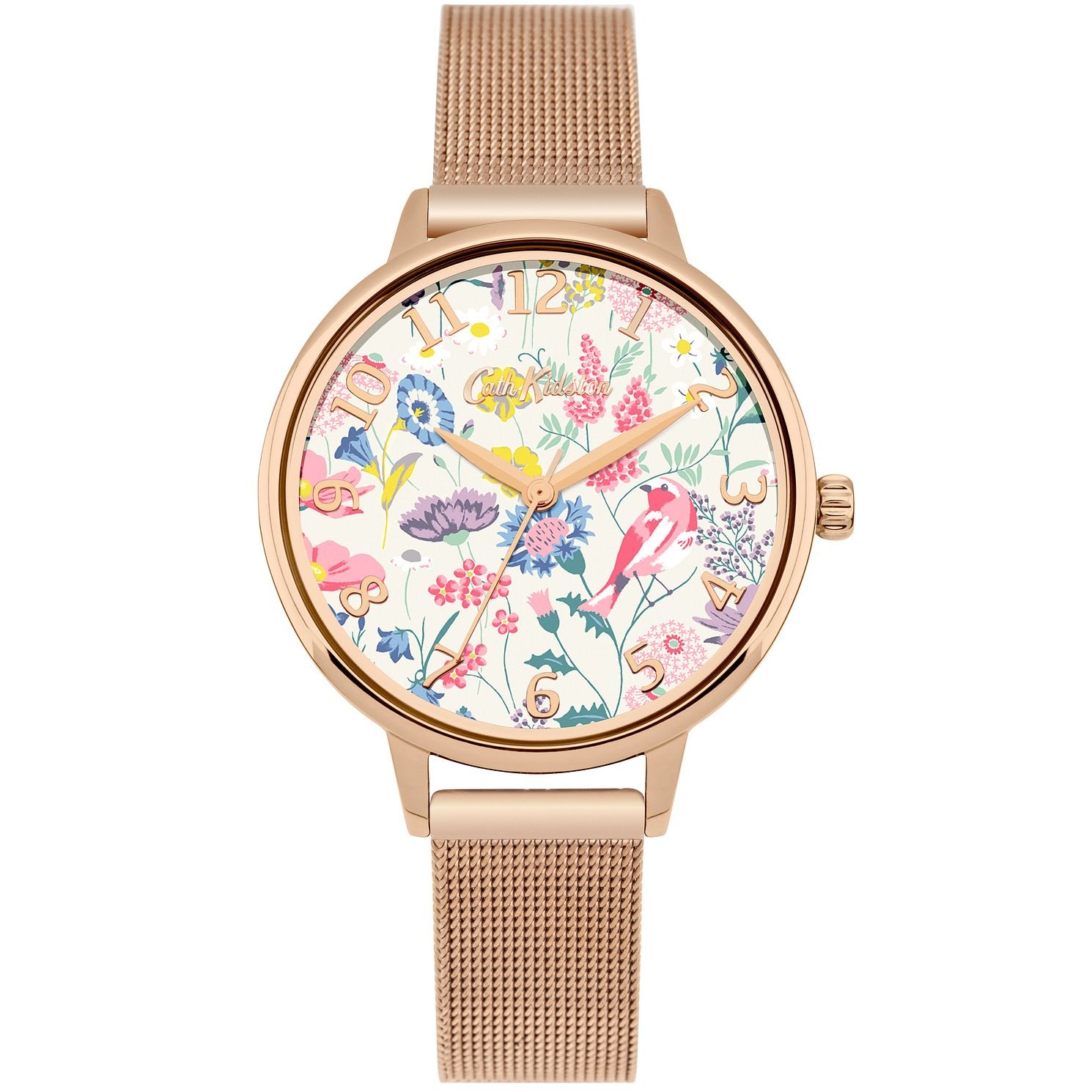 Cath Kidston Ladies' Rose Gold Mesh Bracelet - Product number 4166248