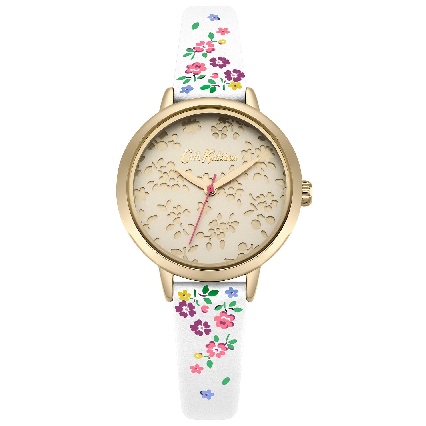 Cath Kidston Ladies' Cream Strap Watch - Product number 4166396