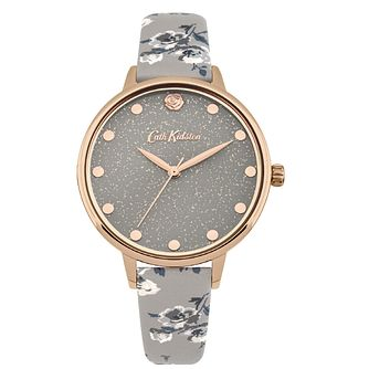 Cath Kidston Ladies' Grey Strap Watch - Product number 4166523