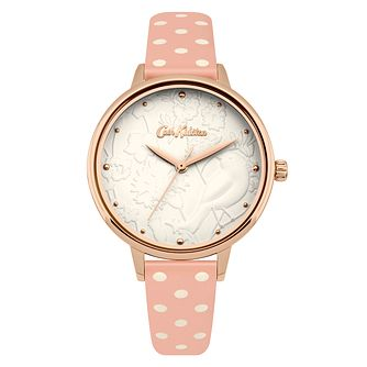 Cath Kidston Ladies' Nude Spot Strap Watch - Product number 4166590