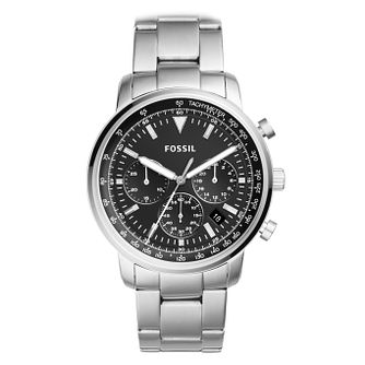 Fossil Goodwin Men's Stainless Steel Chronograph Watch - Product number 4166779