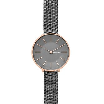 Skagen Karolina Ladies' Rose Gold Tone Bracelet Watch - Product number 4167155