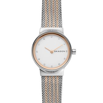 Skagen Freja Ladies' Rose Gold Bracelet Watch - Product number 4167872