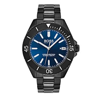 Hugo Boss Ocean Edition Men's Ion Plated Bracelet Watch - Product number 4168283