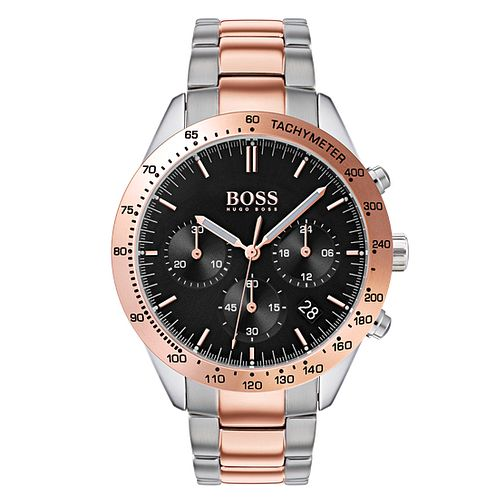 BOSS Talent Men's Two Colour Bracelet Watch - Product number 4168305