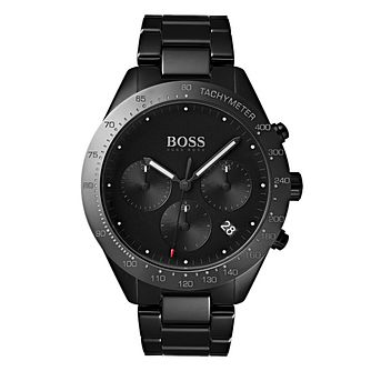 Hugo Boss Talent Men's Black Ceramic Bracelet Watch - Product number 4168313