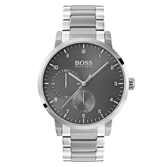 BOSS Oxygen Men's Grey Bracelet Watch - Product number 4168356