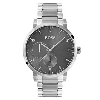 Hugo Boss Oxygen Men's Grey Bracelet Watch - Product number 4168356