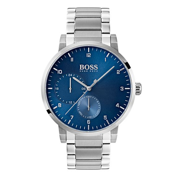 BOSS Oxygen Men's Blue Dial Bracelet Watch - Product number 4168429