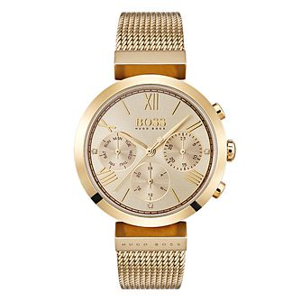 BOSS Classic Ladies' Yellow Gold Tone Bracelet Watch - Product number 4168453
