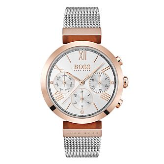 BOSS Classic Ladies' Two Colour Bracelet Watch - Product number 4168496