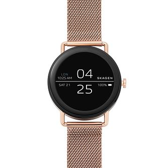 Skagen Falster Men's Rose Gold Tone Touchscreen Smartwatch - Product number 4168658
