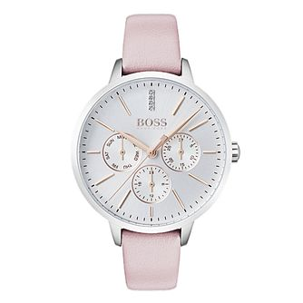 BOSS Symphony Ladies' Pink Strap Watch - Product number 4168674