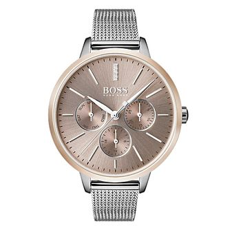 BOSS Symphony Ladies' Stainless Steel Bracelet Watch - Product number 4168690