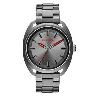 Diesel Fastback Men's Gunmetal Stainless Steel Watch - Product number 4171713