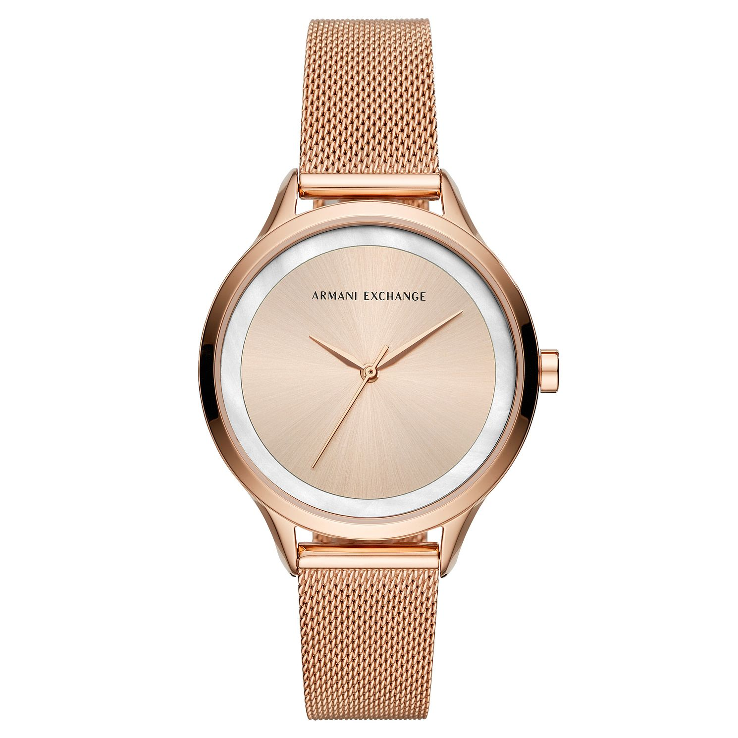 Armani Exchange Ladies' Rose Gold Tone Bracelet Watch - Product number 4172841