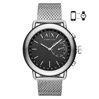 Armani Exchange Luca Men's Mesh Strap Hybrid Smartwatch - Product number 4172868