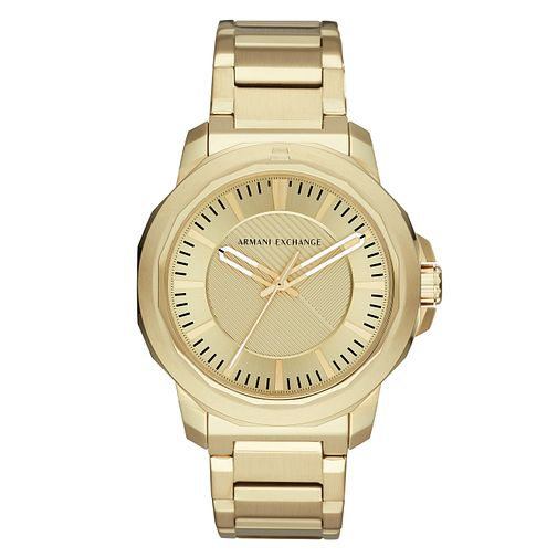 Armani Exchange Men's Gold Tone Bracelet Watch - Product number 4173384