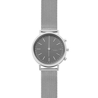 Skagen Connected Hald Ladies' Steel Mesh Hybrid Smartwatch - Product number 4173759