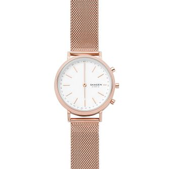 Skagen Connected Hald Ladies' Mesh Hybrid Smartwatch - Product number 4173783