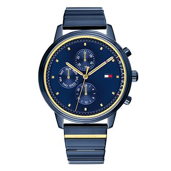 Tommy Hilfiger Ladies' Blue IP Bracelet Watch - Product number 4178084