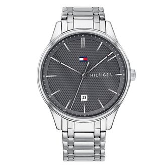 b32de3887 Tommy Hilfiger Men's Stainless Steel Bracelet Watch - Product number 4178270