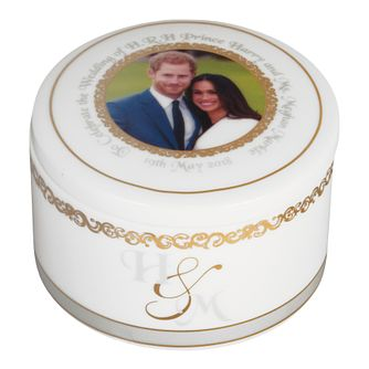 Royal Wedding China Trinket Box - Product number 4178882