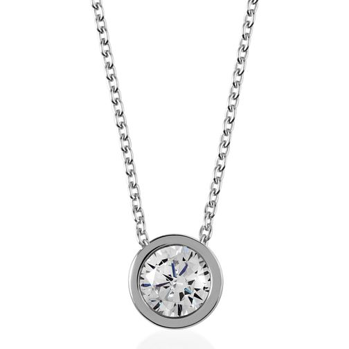 Radley London Sterling Silver Cubic Zirconia Coin Necklace - Product number 4179900