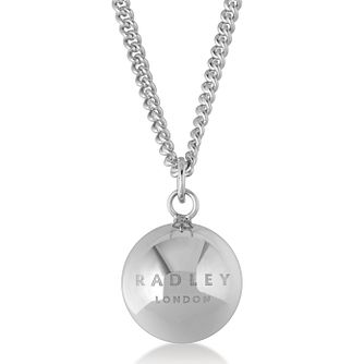 Radley London Sterling Silver Ball Logo Pendant - Product number 4180240
