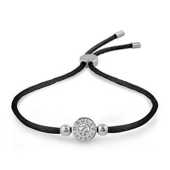 Radley London Cubic Zirconia Black Adjustable Bracelet - Product number 4180313