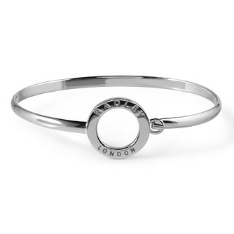 Radley London Sterling Silver Circle Logo Bangle - Product number 4180348