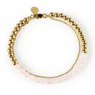Radley London Yellow Gold Plated Beaded Bracelet - Product number 4180356