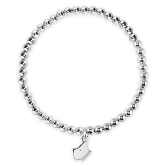 Radley London Sterling Silver Plain Dog Head Charm Bracelet - Product number 4180372