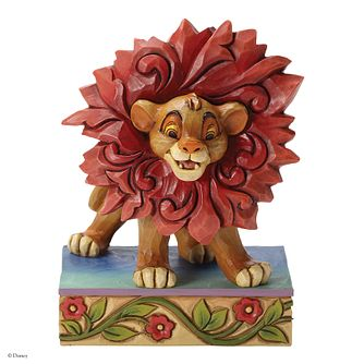 Disney Traditions Just Can't Wait To Be King Simba Figurine - Product number 4180739