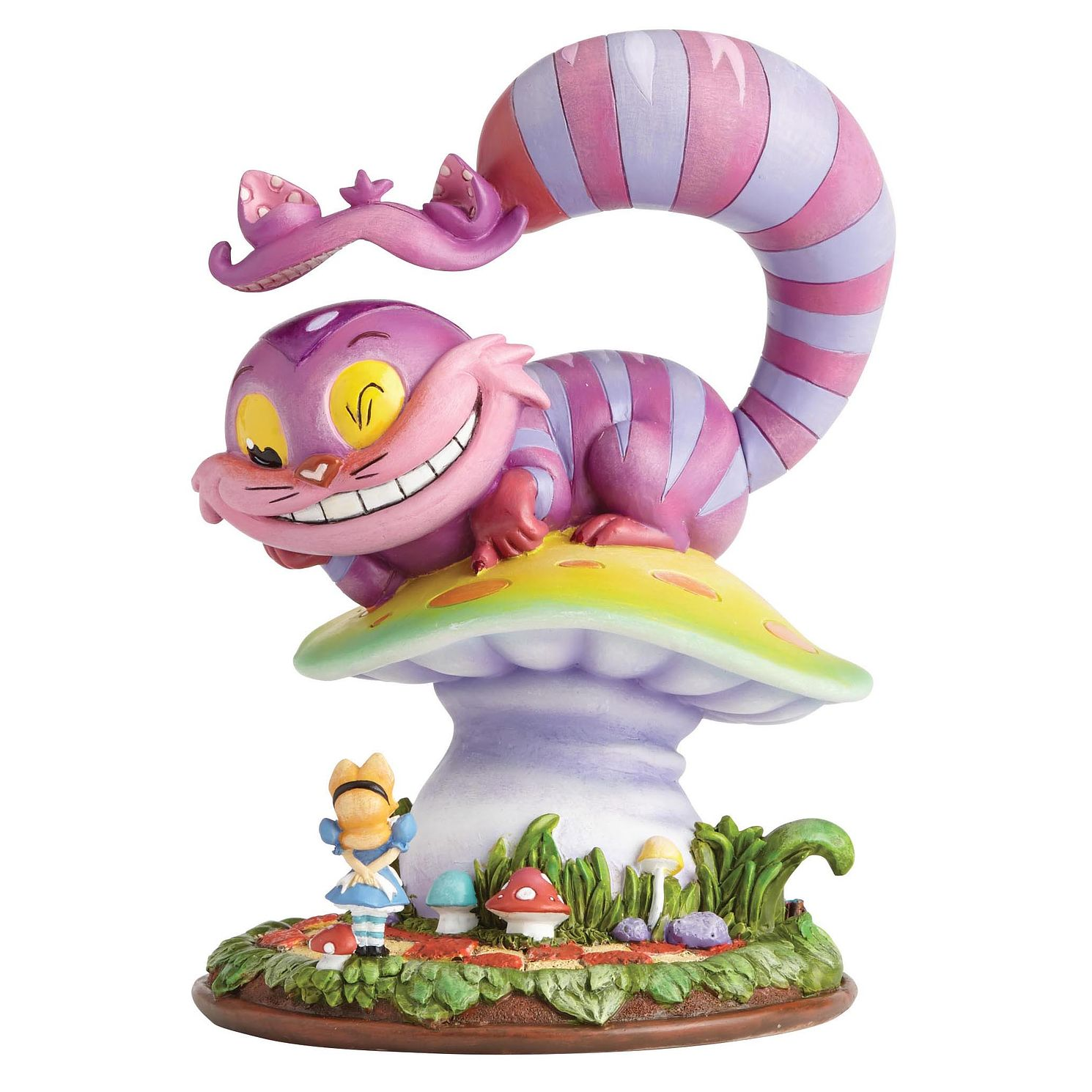 Miss Mindy Disney Cheshire Cat & Alice Figurine - Product number 4180836
